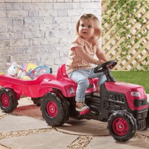 Traktor za devojčice Unicorn 025074