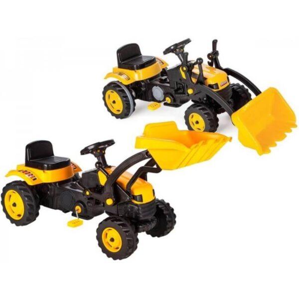 Traktor bager na pedale